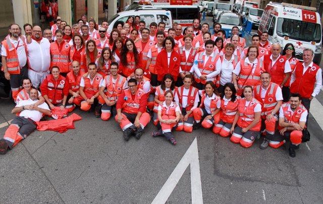 Primer Balance De Atenciones De Cruz Roja En Sf17