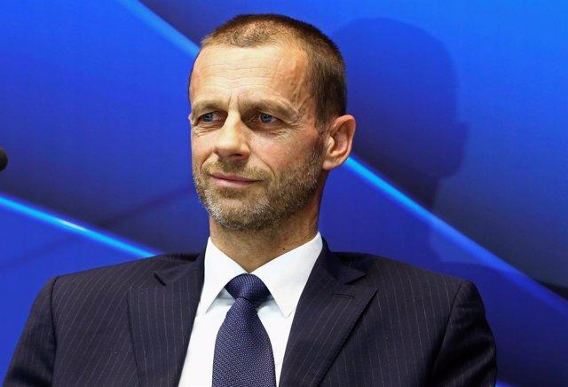 El presidente de la UEFA Aleksander Ceferin