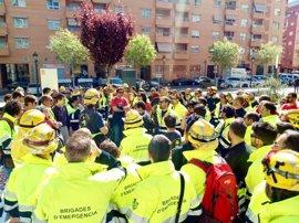 Incendios.-UGT pide una solución integradora en toda España contra el fuego y un estatuto común para bomberos forestales