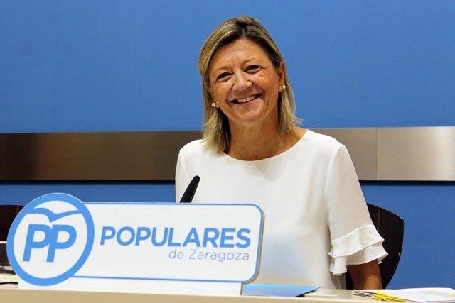 Concejal del Partido Popular en el Ayuntamiento de Zaragoza, Patricia Cavero