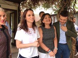 """Casado (PP) afirma que Bonig tiene """"todo el apoyo de Génova"""" para tomar el relevo al Gobierno """"del fracaso"""""""