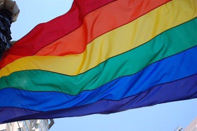 Bandera del colectivo LGTBI