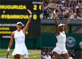 Muguruza busca la cima de Wimbledon ante Venus Williams