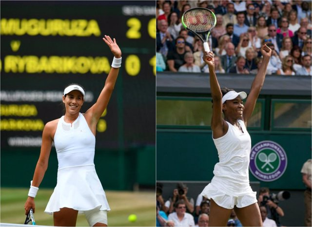 Garbiñe Muguruza Venus Williams Wimbledon