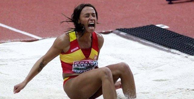 Ana Peleteiro, saltadora española