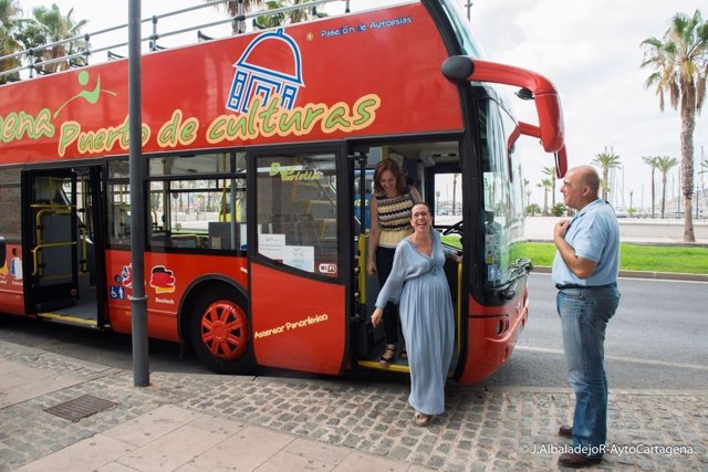 Autobús turístico de Cartagena