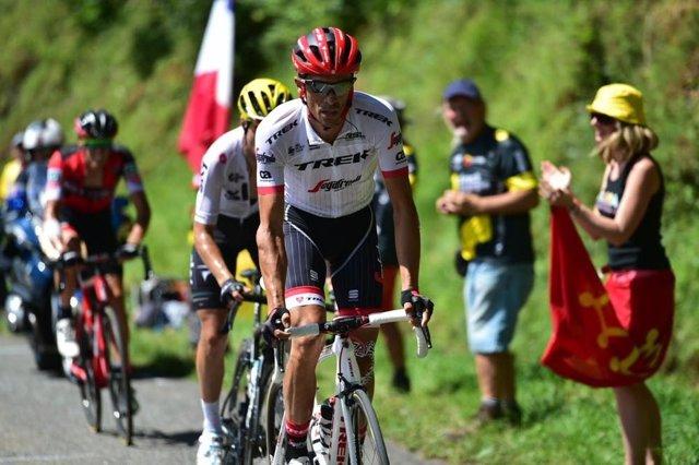 Alberto Contador en el Tour 2017