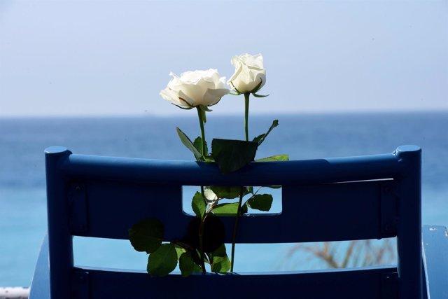 Homenaje en el primer aniversario del atentado de Niza