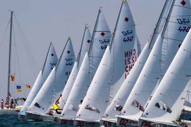 Mundial de vela 470 en Salónica