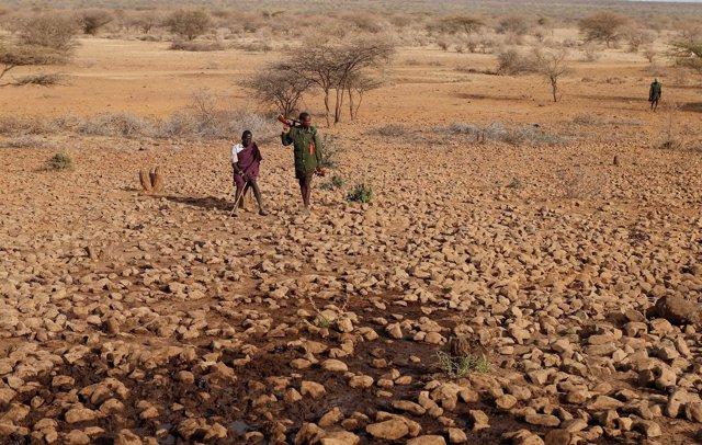 Efectos de la sequía en Kenia