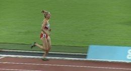 La atleta española Elena Congost
