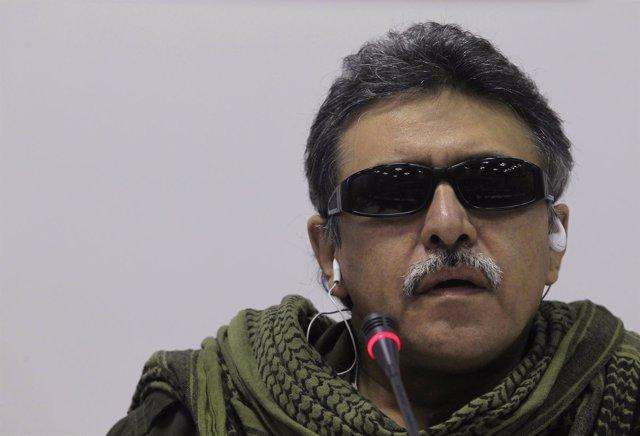 El comandante de las FARC Bertulfo Álvarez, alias 'Jesús Santrich'