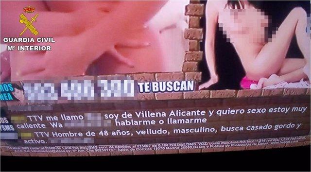 Detienen a un menor en Villena por publicar el teléfono de una amiga