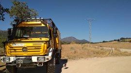 El fuego de Arroyo de San Serván está perimetrado tras calcinar 500 hectáreas