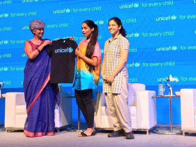 La youtuber Lilly Singh, nueva embajadora de buena voluntad de UNICEF