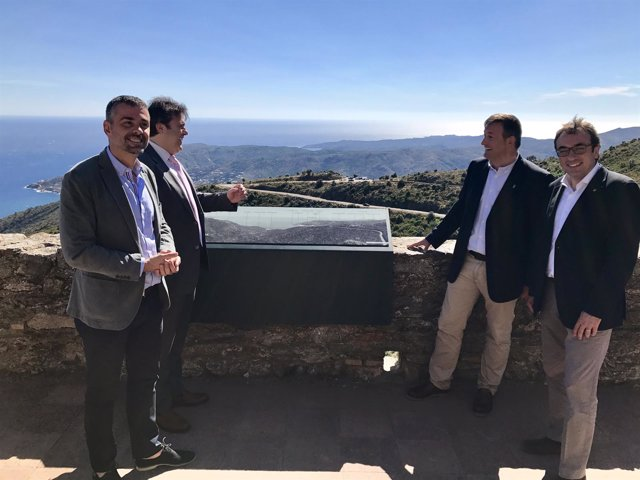 Josep Rull, Santi Vila, Pere Vila y Josep Maria Cervera