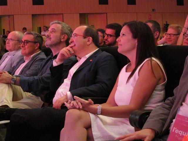 Miquel Iceta, proclamado candidato del PSC en la Generalitat