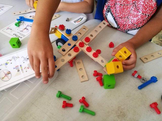 Talleres arquitectura interactiva para niños en Pizarra