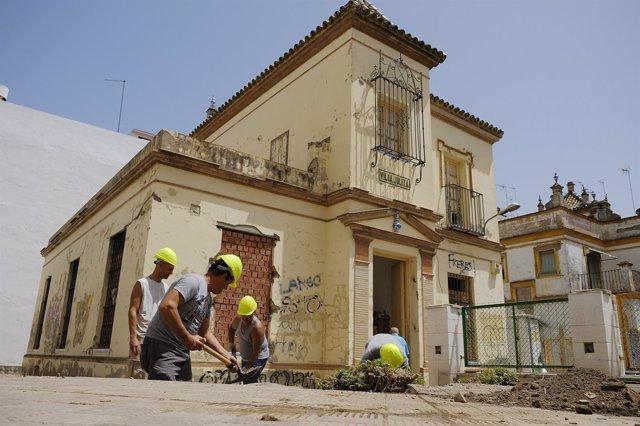 Espacio Villa Julita, en Nervión (Sevilla)