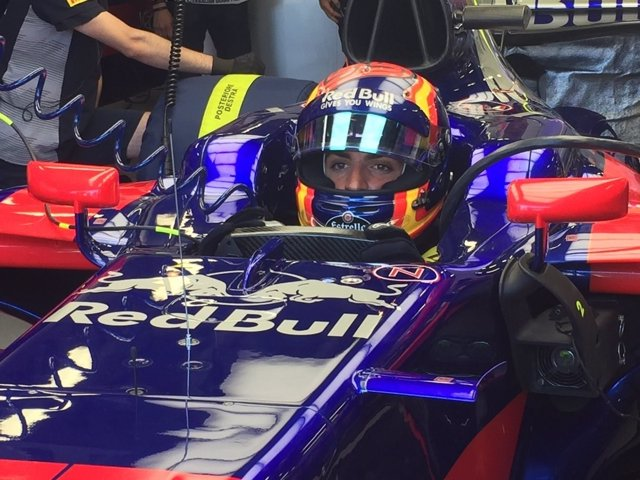 Carlos Sainz Gran Premio Azerbaiyán