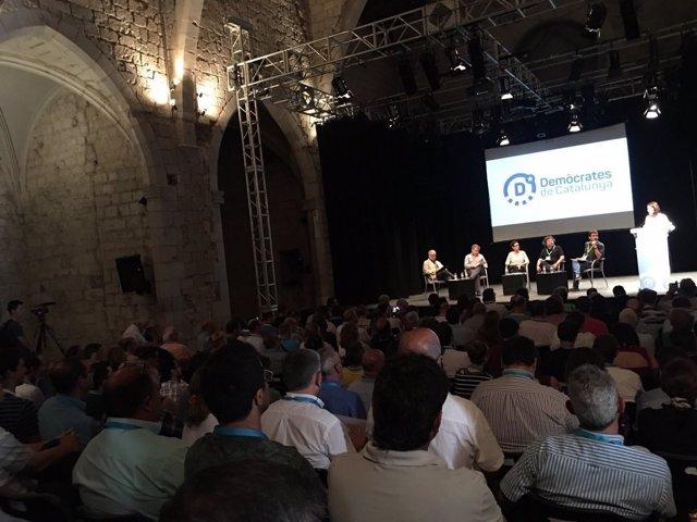 Debate en el II Campus Demòcrata con A.Castellà