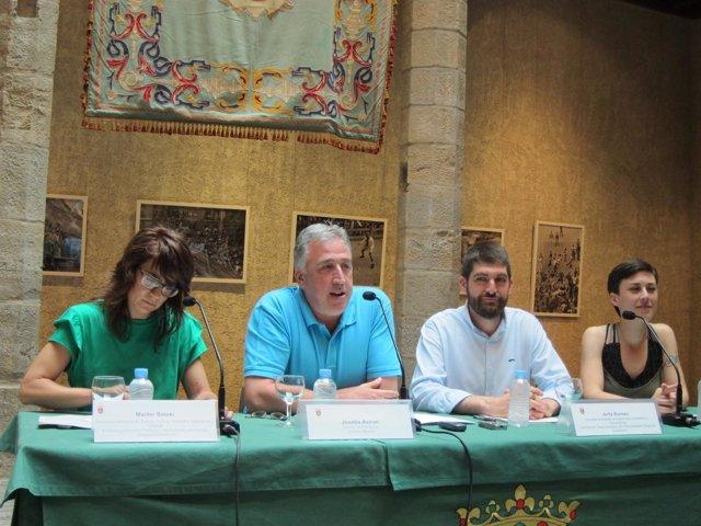 Rueda de prensa de balance de los Sanfermines 2017