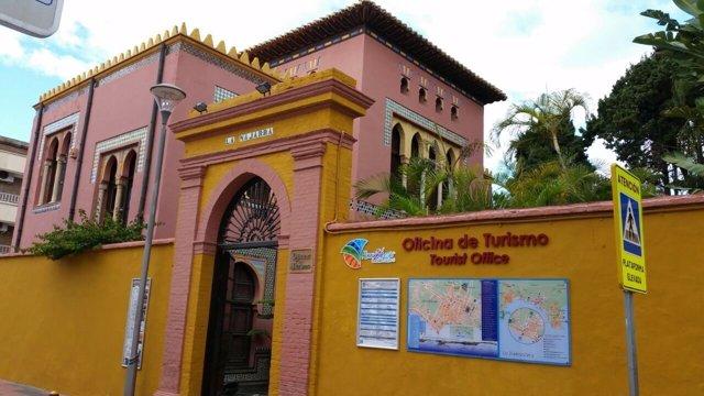 Oficina de turismo en Almuñécar (Granada)