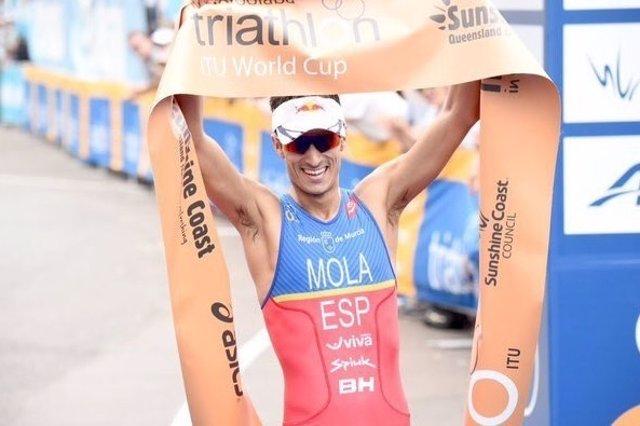 Mario Mola Mooloolaba Copa Mundo triatlón