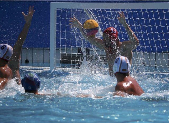 España - Italia de waterpolo en los Juegos Olímpicos