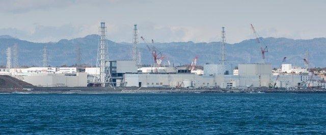 Imagen de la central de Fukushima Daiichi, accidentada el 11 de marzo de 2011