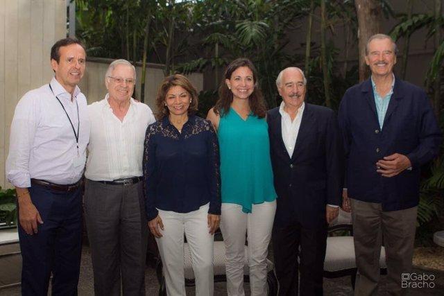Expresidentes latinoamericanos en apoyo a la consulta de la MUD