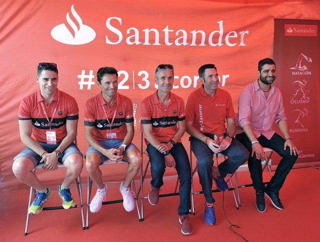 Martín Fiz desvela su equipo para competir este domingo en el Santander