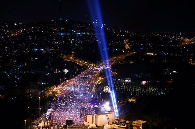 Conmemoración del intento de golpe de Estado