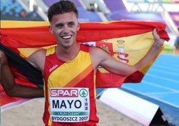 Carlos Mayo consigue el bronce en 5.000 metros del Europeo Sub-23