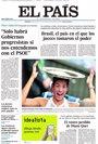 Foto: Primeras páginas de los diarios llegados esta noche a nuestra redacción