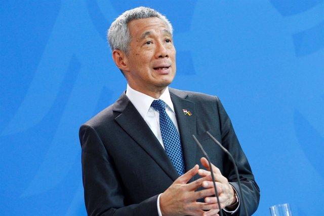 El primer ministro de singapur, Lee Hsien Loong.