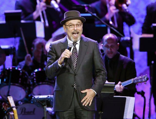 Rubén Blades en actuación durante 2014