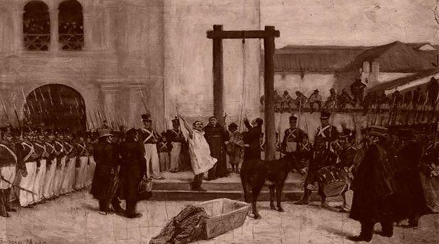 Ejecución de Pedro Domingo Murillo