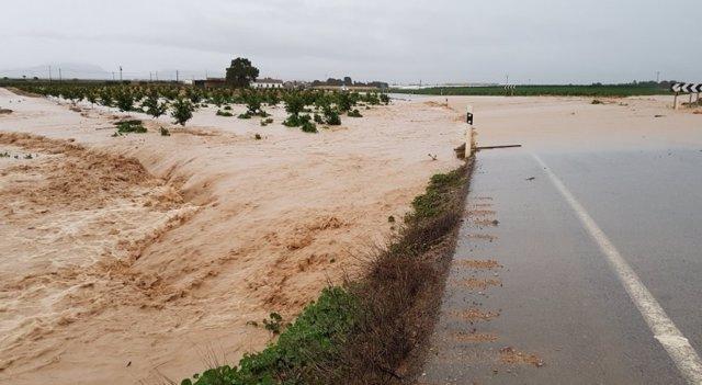Lluvias, campos, temporal, riadas, inundaciones