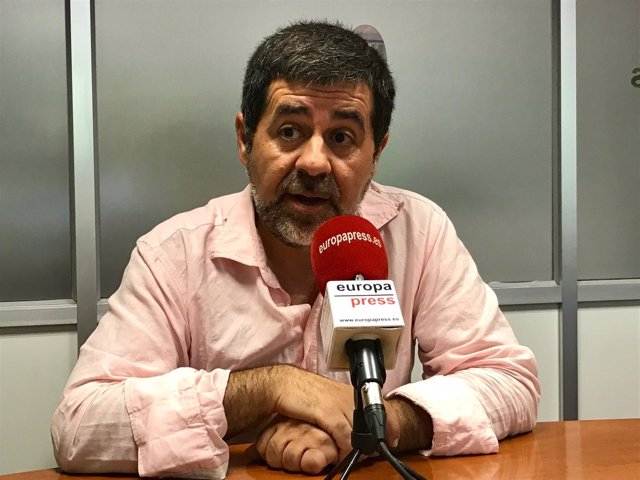 El presidente de la ANC, Jordi Sànchez