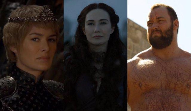 Cersei Lannister, Melisandre, La Montaña