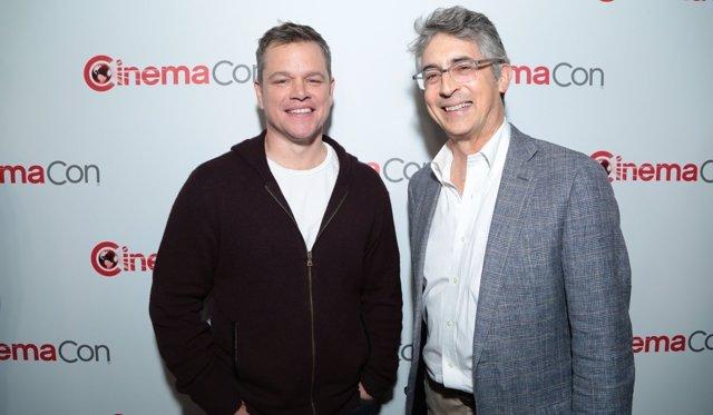 Matt Damon y Alexander Payne