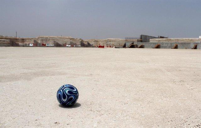 Obras del estadio de Al Wakrah, Qatar