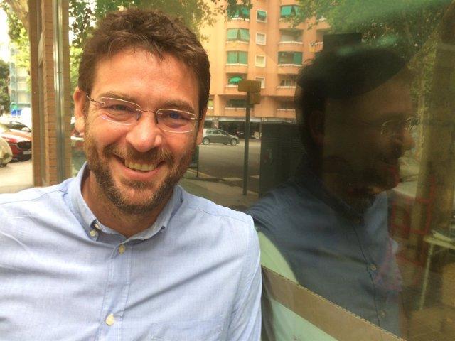 El secretario general de Podem Catalunya, Albano-Dante Fachin
