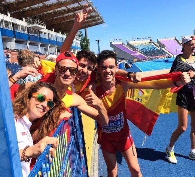 Diego García Carrera campeón Europa Sub-23 20 km marcha