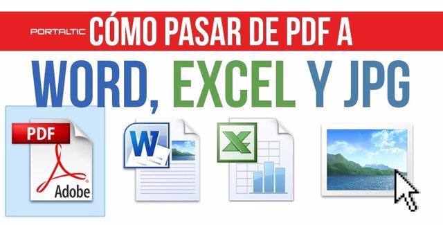 C mo pasar documentos de word a pdf
