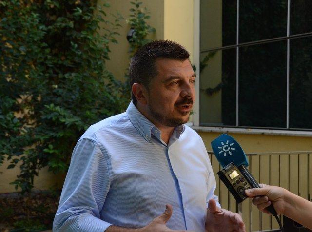 El vicesecretario de Organización y Formación del PP-A, Toni Martín