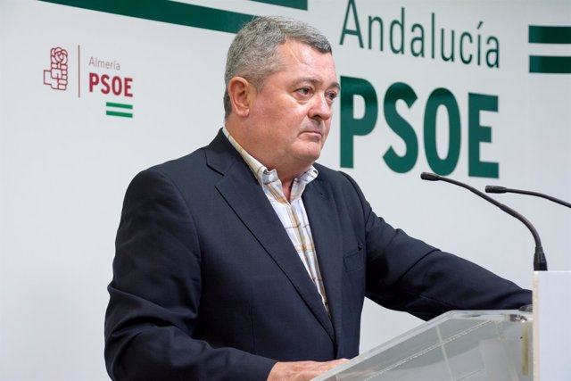 Rueda de prensa de Jesús María Ruiz (PSOE-A)