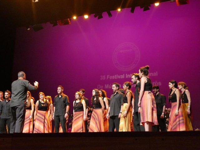 Coro Cantoría de la Merced en el Festival Cantonigròs de Vic (Barcelona)
