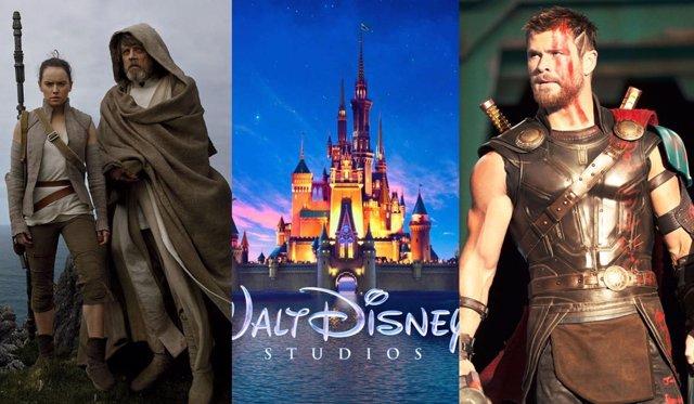 Star Wars: Los últimos Jedi, Walt Disney, Thor: Ragnarok